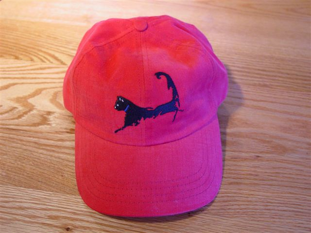 Cape Cat Cap (Cape Cod Wild Rose Red)
